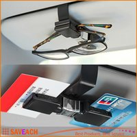 Wholesale Eye Glasses Card Holder Clip car styling car accessories Sun Visor Sunglasses for Car Auto Vehicle