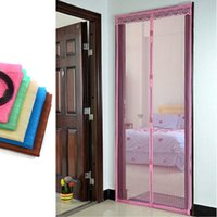 Wholesale 2015 High Quality Magic Magnetic Insect Door Screen Net Fly Bug Mosquito Mesh Curtain