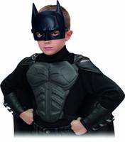 batman armor - Hard PVC Batman Superman Mask Armor Cloak Props Costume Fancy Dree for children years