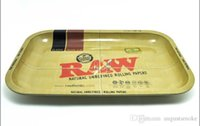 Wholesale RAW iron plate storage tray Cigarette essential accessories RAW rolling trays cm cm useful tool