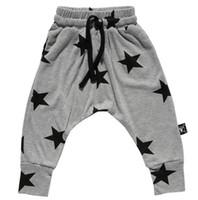 baggy bottoms - spring autumn child bottoms high quality nununu kids children s boy s girl s star printed haren pants baggy pants trousers