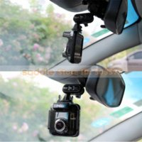Cheap Universal Car Rear View Mirror Mount Holder Bicycle Brackets For Car DVR GT550WS GT300W...Free Shipping+Wholesale Universal Car Bracket