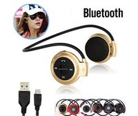 Cheap Mini 503 Stereo Bluetooth Headset Wireless Headphones Neckband Style Earphone for iPhone 6 PLUS iPad air 2 Android Notebook Devices