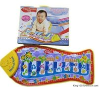 baby plat - Baby toy twiddlefish touch violin game blanket game pad music baby plat mat