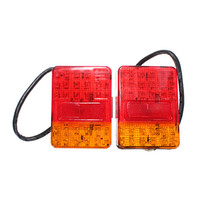 Wholesale 2x V LED Stop Tail Lights Lamp Indicator Trailer Truck Caravan Ute x90mm