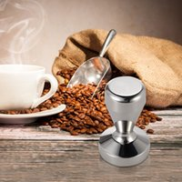 barista espresso - High quality Stainless Steel Coffee Tamper Barista Espresso Tamper Coffee Accessory quot Base H16555