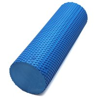 Wholesale New quot x quot EVA Yoga Pilates Fitness Foam Roller With Massage Floating Point Blue
