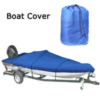 Wholesale Water Resistant D Speedboat Boat Cover ft Beam quot Trailerable Fish Ski V Hull Weather Proof UV Snow Protected