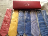 Wholesale Fashion F L G M silk tie business casual quality tie male silk jacquard tie