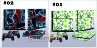 Cheap Free Shipping Awesome Avenger Game Decal Skin Stickers For Playstation 4 PS4 Console + 2 Pcs Stickers For PS4 Controller