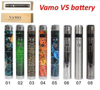 battery mold - Vamo V5 Mold Mechanical Mod V5 Battery Body Variable Voltage Mod for Electronic Cigarette in retail package