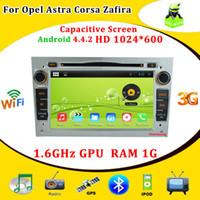 Reproductor Android 4.4 DVD del coche de Opel Astra Vectra HGJ Antara Zafira Corsa con pantalla capacitiva, HD 1024 * 600, Cansbu, Radio