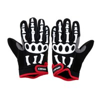 mens sports gloves - Cool Fashion Full Finger Cycling Gloves Mens Non slip Bicycle Cycling Gloves Spakct Breathable Shockproof Outdoor Sports Gloves DHL Y1706
