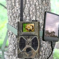 Ir hunting Avis-HC-300M Trail caméra de chasse photo piège MMS SMS GSM GPRS 12MP camouflage sauvage HD Vedio Game Cameras avec 36 pcs IR LED