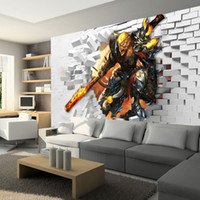background games - D Stereo Custom Wallpaper Background Wallpaper Bedroom House Cafe Theme Cartoon Anime League Game Mural
