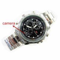 Wholesale Spy HD Wrist DV Watch Stainless Steel GB Video Hidden Camera DVR Waterproof Camcorder Mini DV