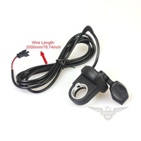 Wholesale Wires Stars Performance Left Finger Change Speed Switch E bike Mini Bike Electric Bicycle Scooter