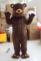 Wholesale lovely high quality Brown Bear mascot costume cartoon mascot custom products custom made s m l xl xxl