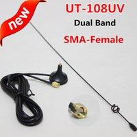 Wholesale NAGOYA UT UV SMA F UHF VHF Magnetic Vehicle mounted Antenna for Radio Kenwood TK BAOFENG BF S