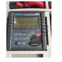 Wholesale 4 pole electric resistance meter ETCR3200 hot sale digital super large LCD display double clamp method measure grounding resistance