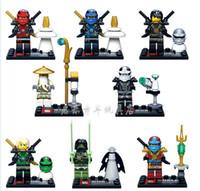 Wholesale 480pcs SY285 Ninja Thunder Sworosman Assemble MinifigureBuilding Block Set Toys Action Figure Compatible