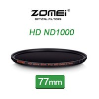 Wholesale ZOMEI ND1000 mm ultra thin Neutral Density Gray filter dimmer decreas light