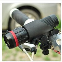 Wholesale Bicycle headlights telescopic zoom flashlight mountain bike equipment WG275