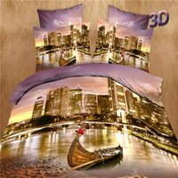 best boat wash - Best Quality Cotton D Bedding Sets King Queen PC Bed Sheet PC Comforter Cover Pillow Covers Boat on Water