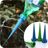 Wholesale 8 Automatic Garden Cone Spike Watering Plant Flower Waterers Bottle Irrigation System