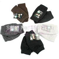 Envío al por mayor-libre al azar del color más barato de pantalla Unisex Mujer / Hombre tacto suave y elastizado guantes calientes del invierno para el teléfono móvil tablilla de la pista