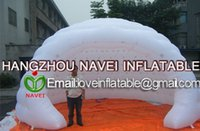 Wholesale 6m Inflatable party tent for event advertising Promotions with CE UL blower