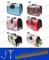 Wholesale NEW Colors Fashion Pet Dog Cat Carrier Travel Tote Bag Airline Size S M L MYY13112