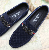 Slip-On flats - Spring mens fashion Moccasins casual flat heel shoes lounged trend sailing shoe for man colors