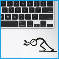 Wholesale Humor matchstick man Notebook touchpad Decal Laptop trackpad Sticker for Apple Macbook Air Pro Retina quot quot quot quot Skin Protectors TPS