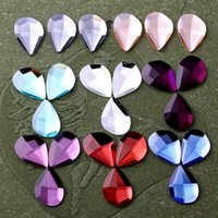 bags droplets - 100pcs mm Willow Leave Droplet Flatback Crystal Strass Rhinestones DIY For Phone Bags Shoes Decoration