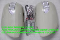 Wholesale Taiwan Emarked LED Side Mirror Cover For PRADO TRJ120 HIACE H200 HILUX SURF N210 GX470 With Turnning Foot lamp