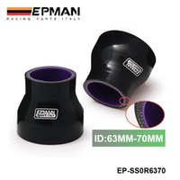 Wholesale Epman quot quot mm mm TURBO INTAKE SILICONE Straight Reducer Hose Pipe Coupler Black EP SS0R6370