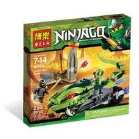 Wholesale Bela minifigures Viper Motorcycle Building Blocks sets Ninja Ninjago Chima Boys Toys compatible with legao