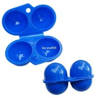 egg container - Foldable Plastic Carry Eggs Box Case Outdoor Storage Container Outdoor Y1333
