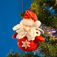 animated christmas ornaments - Artificial Merry Christmas Tree Decorations Ornaments For Home Decor Animated Christmas Dolls Santa Claus Snowman