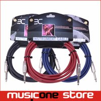 bass guitar cables - EX ENO High Qulity Anti interference Performance Instrument Guitar Bass mm Male to Male Audio Connection Cable Cord MU1253