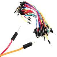 Wholesale Hot Selling Set Multicolor Solderless Breadboard Test Jumper Experiment Cable Wire Kit