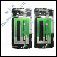 Wholesale Original Front Middle Frame Housing For Samsung Galaxy Note N9100 Bezel Plate Tracking Number