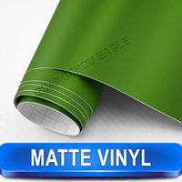 best vehicle body - Military Green Matte Vehicle Vinyl Best For Car Decoration Air Free Size m x m
