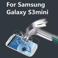 Al por mayor-ultrafino de vidrio templado transparente Protector de pantalla para Samsung Galaxy S3 para S4 S5 S6 Mini Edge Nota 2 Nota 3 Nota 4 A3 A5 A7