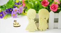 Wholesale New Design Snow Queen Anna Elsa Silicone soap Mold Christmas Gift Chocolate Fondant Mould Kitchen Tools Cake Decorating