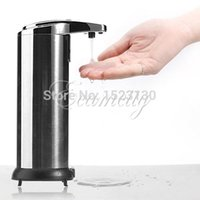 Wholesale High Quality Stainless Steel Automatic Handsfree Sensor Touchless Soap Dispenser Kitchen Bathroom