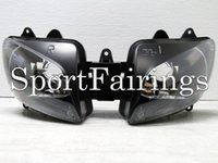 Wholesale Headlight Assembly Fit For Yamaha R1 YZF1000 Year Sportbike Motorcycle Headlamp Clear Lens New