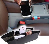 Wholesale car seat aperture plug glove box carrying boxes of bin car slot plug gap boxes litter bins
