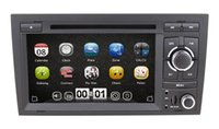 audi a4 gps navigation - 2 Din inch car dvd player for AUDI A4 with GPS Navigation Bluetooth Radio Stereo TV G Free maps